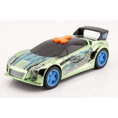 Hot Wheels Blazing Cruisers Quick N´Sik Green světlo a zvuk