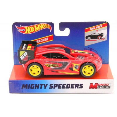 Hot Wheels Mighty Speeders Time Tracker Red