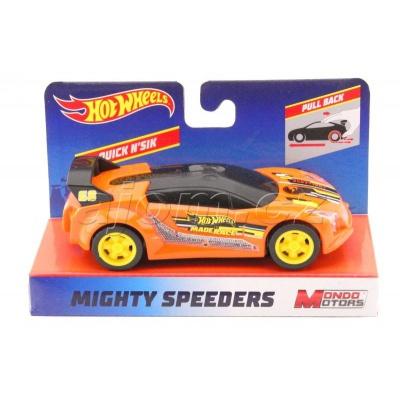 Hot Wheels Mighty Speeders Quick N´Sik Orange