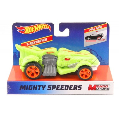 Hot Wheels Mighty Speeders T-Rextroyer Green