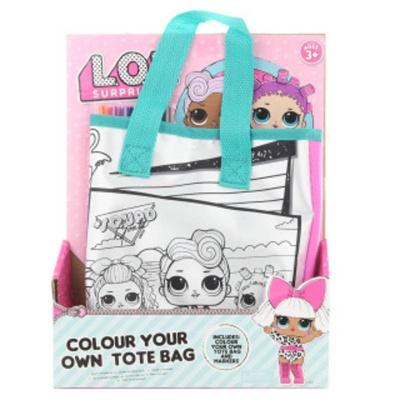 Vybarvovací taška kabelka panenky LOL Surprise!