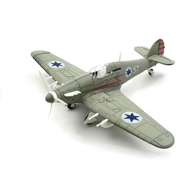 Model letadla Hawker Hurricane šedý