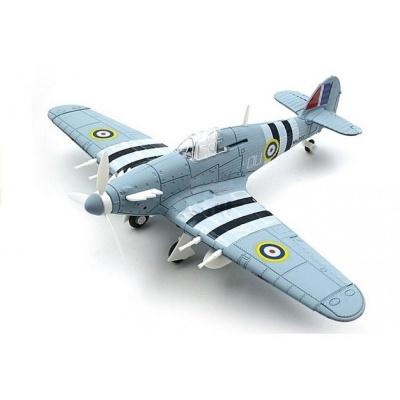 Model letadla Hawker Hurricane světle šedý