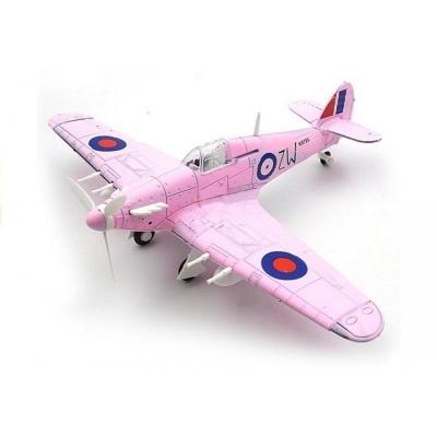 Model letadla Hawker Hurricane růžový