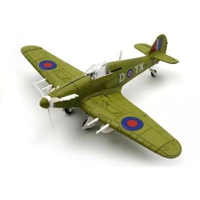 Model letadla Hawker Hurricane tmavě zelený
