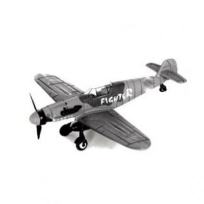 Model letadla BF-109 šedý