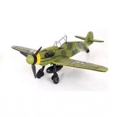 Model letadla BF-109 zelený