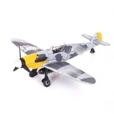 Model letadla BF-109 šedožlutý