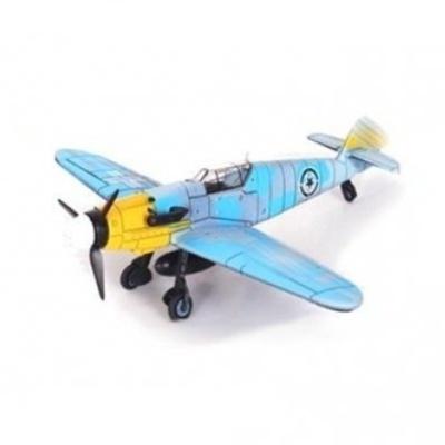 Model letadla BF-109 modrý