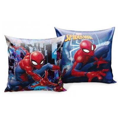 Polštářek Spiderman oboustranný 33 x 33 cm