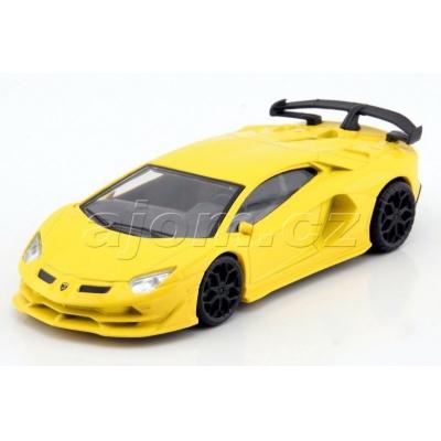 Lamborghini Aventador SVJ model auta Mondo Motors 1:43