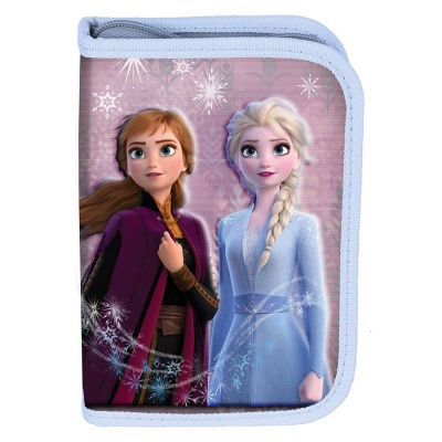 Školní pouzdro penál Frozen Ledové království 2 - s chlopněmi a vybavením