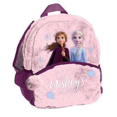Plyšový batoh malý růžový Frozen 2 Ledové království