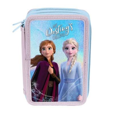 Školní dvoupatrové pouzdro penál Frozen 2 Ledové království
