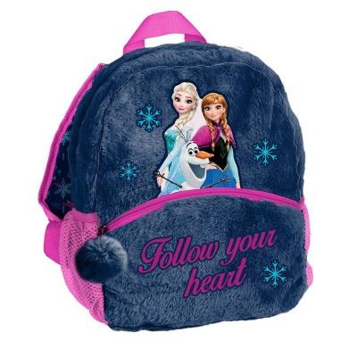 Plyšový batoh malý modrý Frozen 2 Ledové království