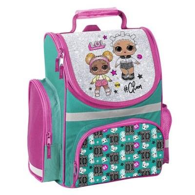 Školní batoh aktovka LOL Surprise zelená i pro prvňáčky