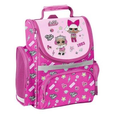 Školní batoh aktovka LOL Surprise růžová i pro prvňáčky
