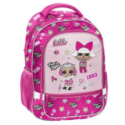 Školní batoh brašna LOL Surprise růžový