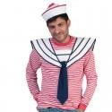 Námořnický límec s kravatou