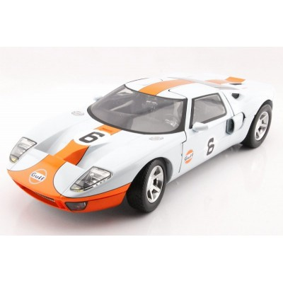 Ford GT Concept Gulf Color kovový model auta MotorMax 1:12