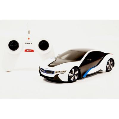RC model BMW i8 auto na dálkové ovládání 1:24 bílý