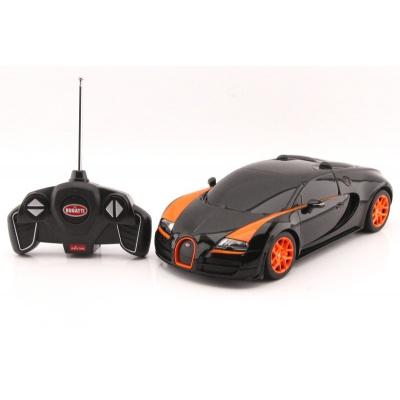 RC model Bugatti Veyron Grand Sport Vitesse auto na dálkové ovládání 1:18 černá