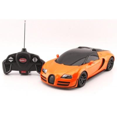 RC model Bugatti Veyron Grand Sport Vitesse auto na dálkové ovládání 1:18 oranžová