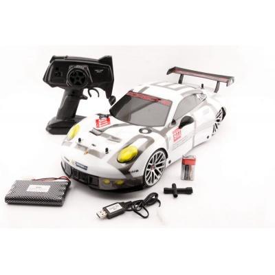 RC model Porsche 911 RSR 4WD 2,4Ghz auto na dálkové ovládání 1:10