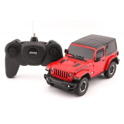 RC model Jeep Wrangler Rubicon auto na dálkové ovládání 1:24 červený