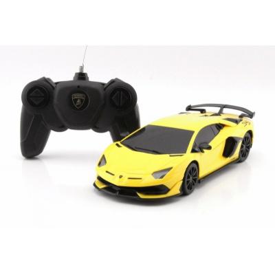 RC model Lamborghini Aventador SVJ auto na dálkové ovládání 1:24 žlutý