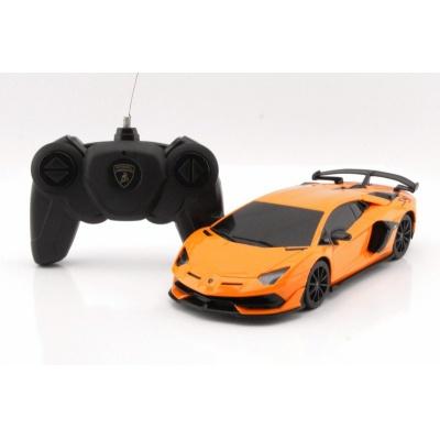 RC model Lamborghini Aventador SVJ auto na dálkové ovládání 1:24 oranžový