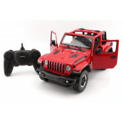 RC model Jeep Wrangler Rubicon auto na dálkové ovládání 1:14 červený