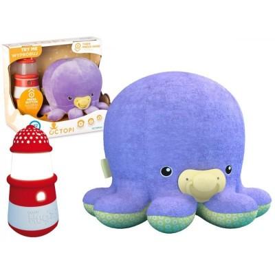 Ocean Hugzzz Octopi Chobotnička + maják světlo a zvuk