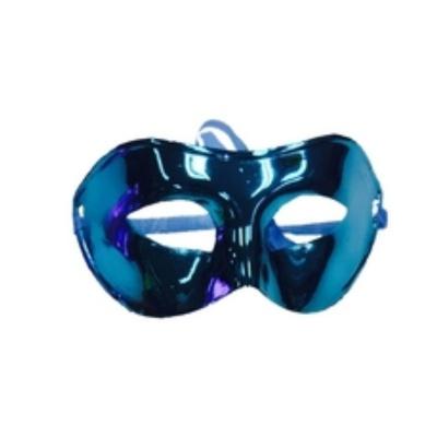 Škraboška maska modrá