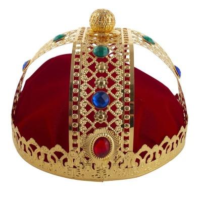 Královská koruna - kovová