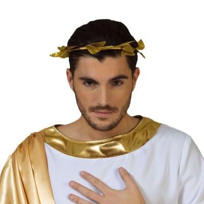 Zlatý věnec z listí říman