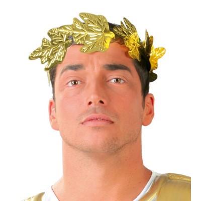 Věnec z listí zlatý