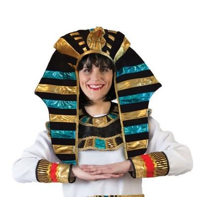 Egyptská koruna faraon - textilní