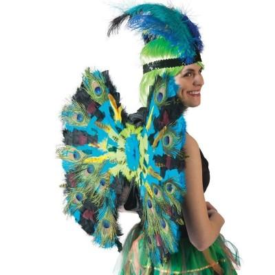 Paví ocas - křídla