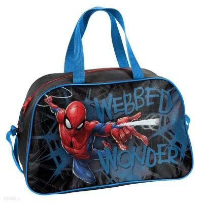 Dětská sportovní taška kabela Spiderman černá