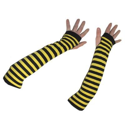 Rukavice návleky na ruce včela