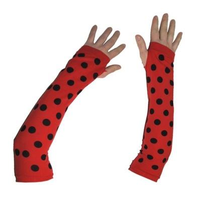 Rukavice návleky na ruce beruška