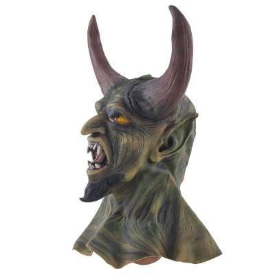 Gumová maska čert démon