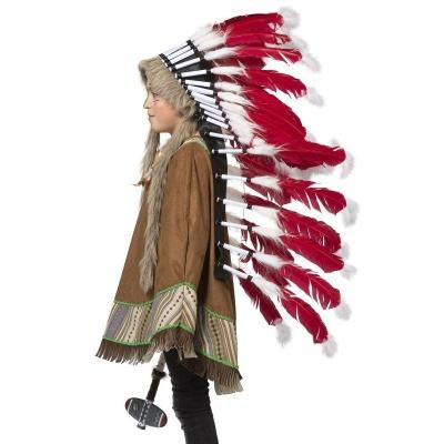 Indiánská čelenka pro náčelníka - velká