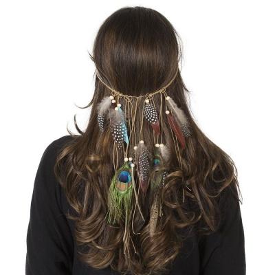 Indiánská čelenka na vlasy