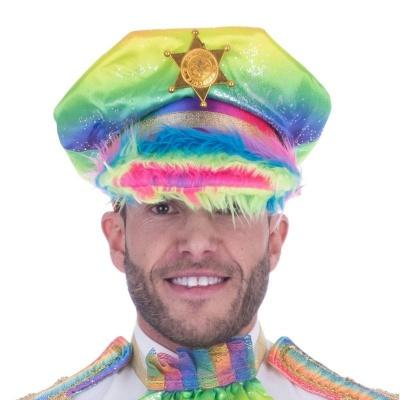 Duhová čepice Sheriff