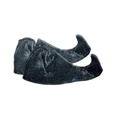 Návleky na boty do špičky dětské - černé