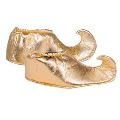 Návleky na boty do špičky - zlaté