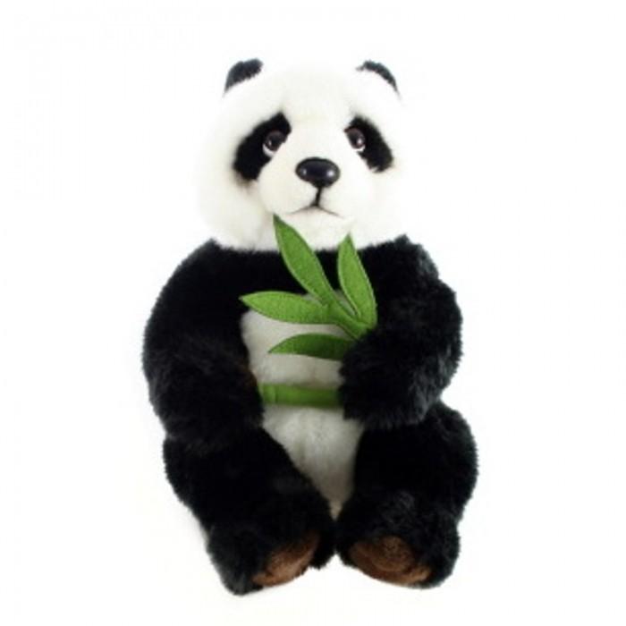Plyšová Panda s větvičkou 26cm