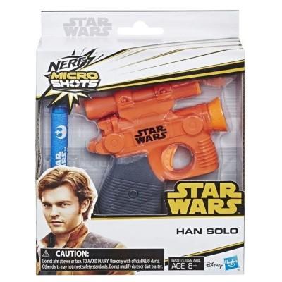 Dětská pistole Nerf Microshot Star Wars Han